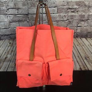 Kate Spade Saturday Orange Canvas Tote Bag